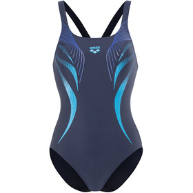 arena Flow V Back LB Swimsuit Women blue